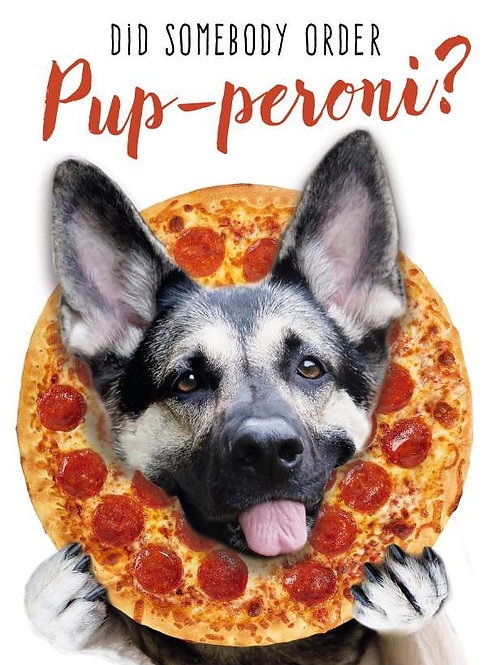 Did Somebody Order Pup-peroni