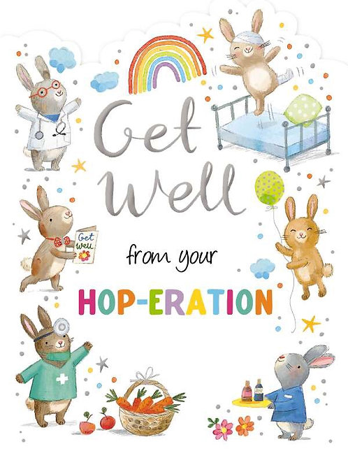 Get Well From your Hop-Eration Card