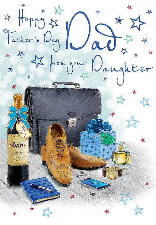 Happy Father's Day Dad from your Daughter