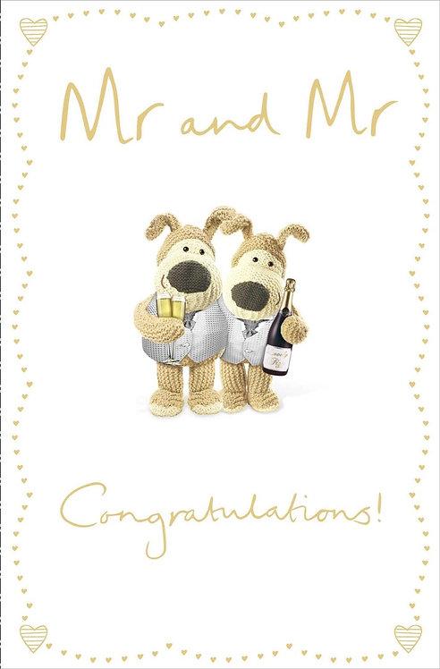 Mr & Mr Wedding Day Card