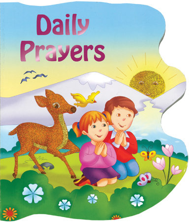 Daily Prayers Hard Book For Children