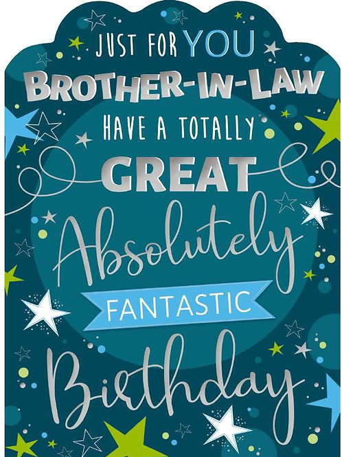 Brother-in-law Birthday Card