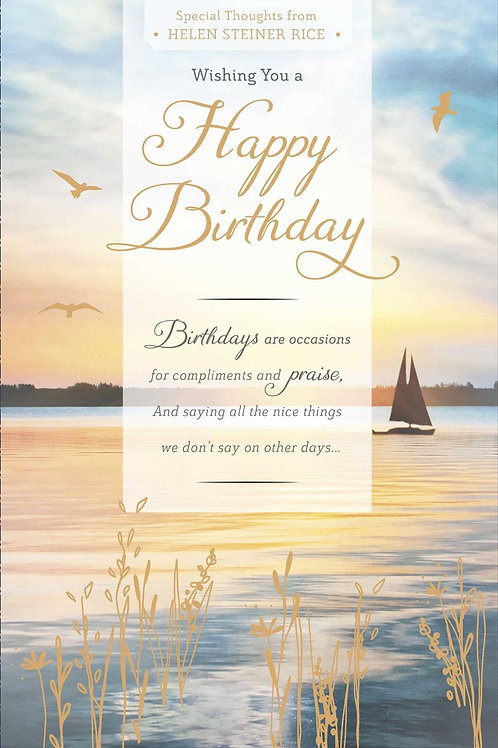 Wishing You A Happy Birthday Special Thoughts From Helen Steiner Rice
