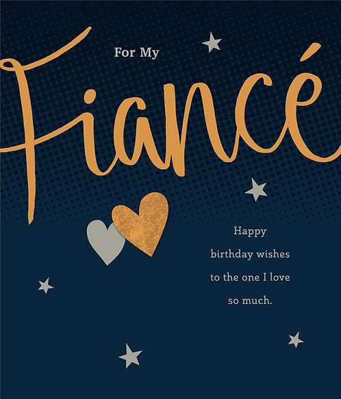 For my Fiance Happy Birthday Wishes To the One I Live