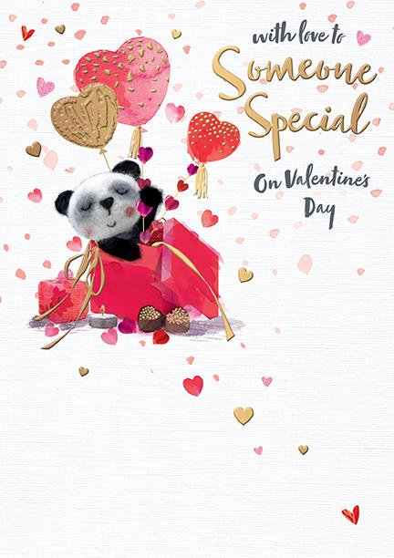With Love To Someone Special On Valentines Day