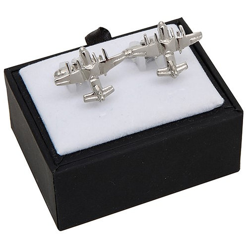 Equilibrium Mens Silver Coloured Cufflinks Boxed 3 Sports
