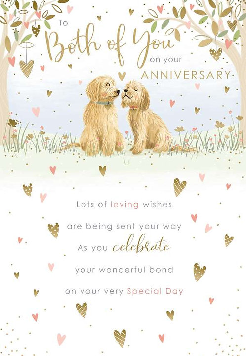 To Both Of You On Your Anniversary
