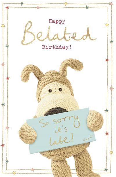 Happy Belated Birthday