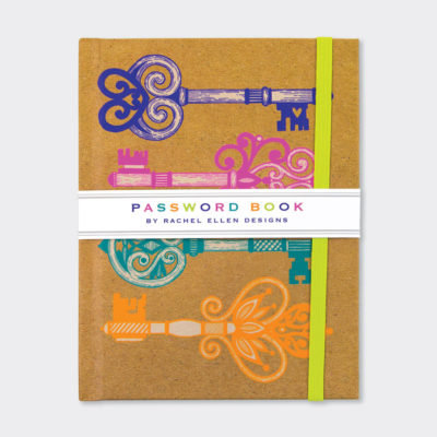 Rachel Ellen Password Book