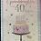 Thumbnail: Granddaughter 40th Birthday Card