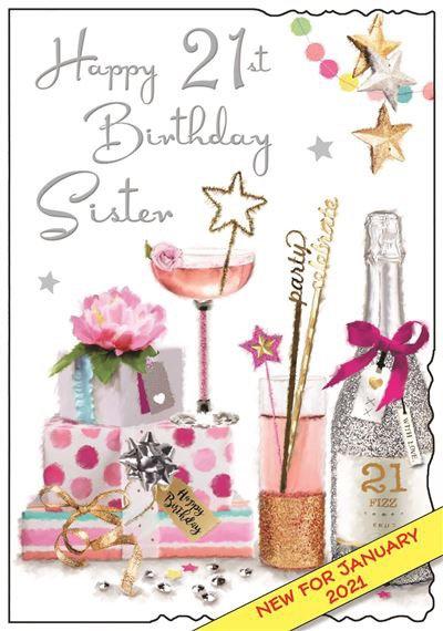 Sister 21st Birthday