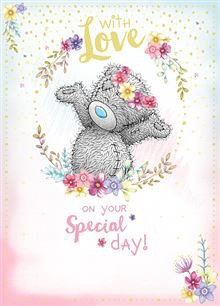 With Love On Your Special Day Tatty Ted