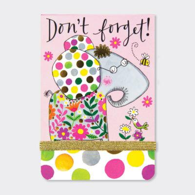 "Rachel Ellen ""Don't Forget""  Mini A7 Notepads"