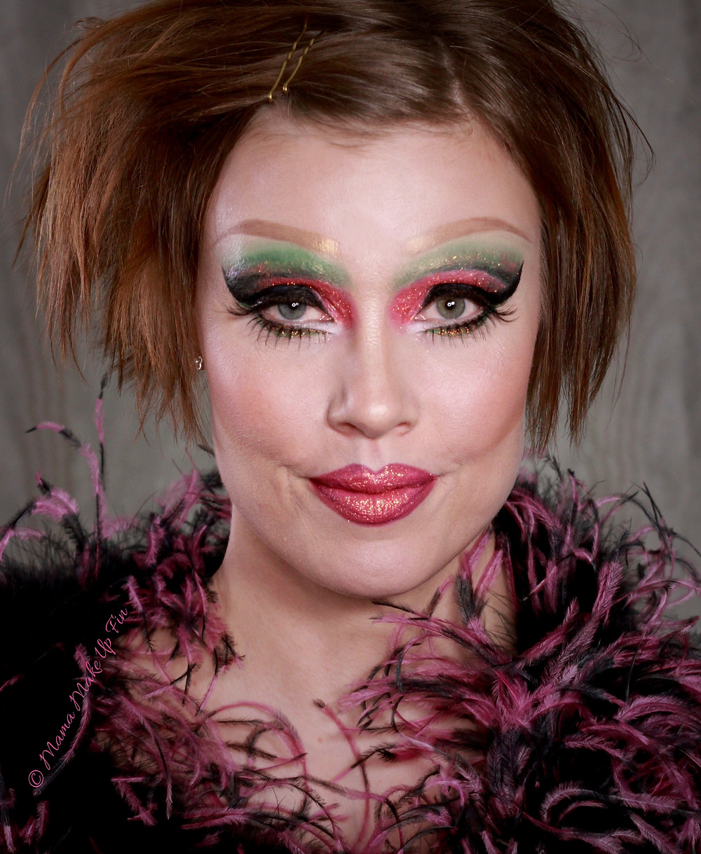 Drag Queen meikki