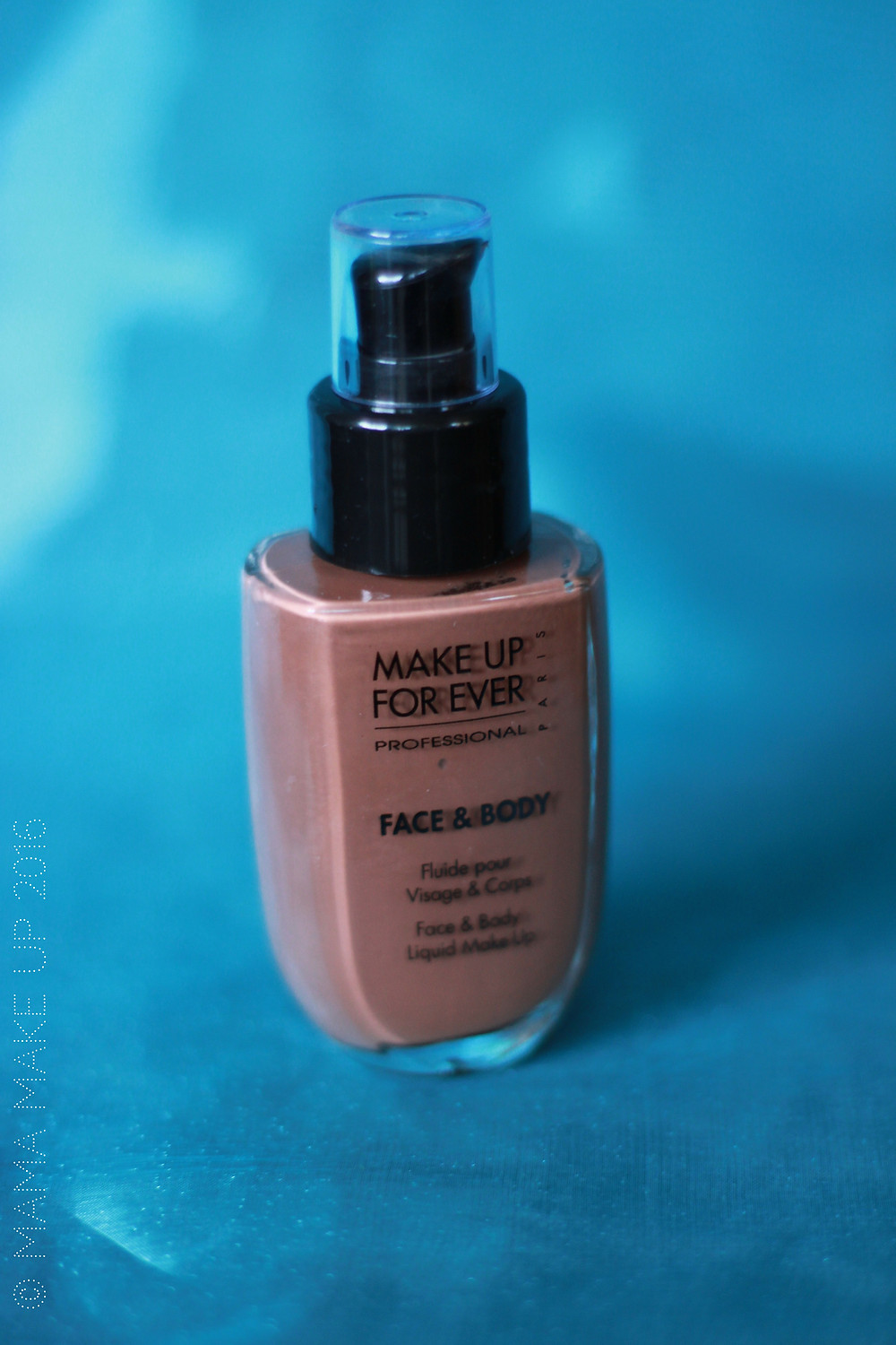 make up forever face & body meikkivoide