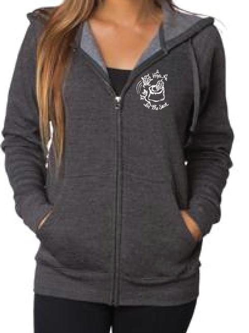 Zip Hooded Sweatshirt Risky Business