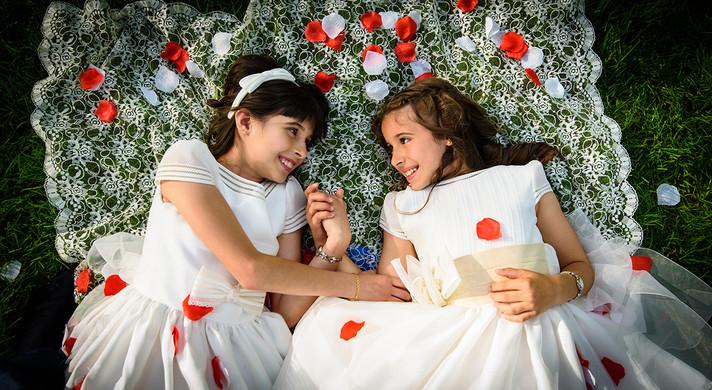 Comunión Clara y Lucía