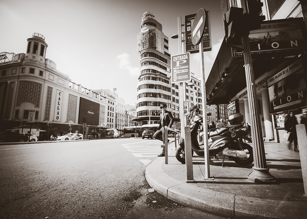 Sesión urbana con Juan carlos