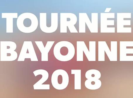 Tournée Bayonne 2018