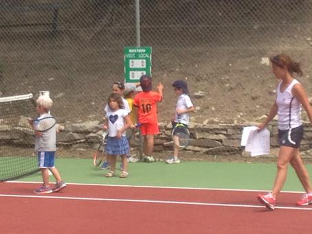 Mini tennis et le vocabulaire du tennis