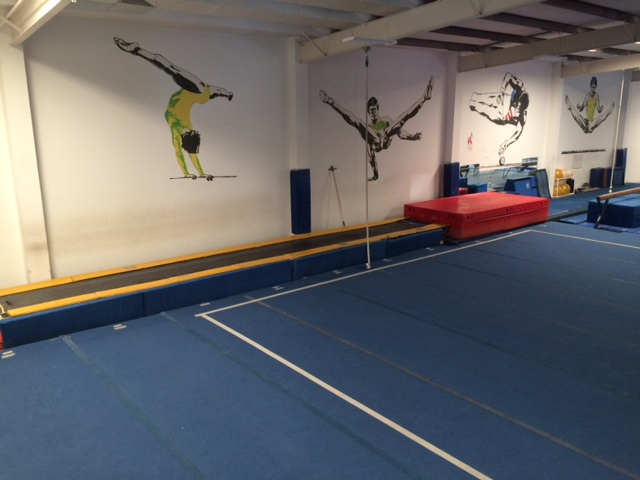 Tumble Track and Floor