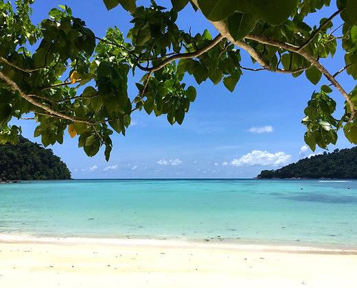 Relax en la isla de surin