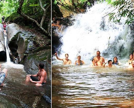 Trekking y bañarse en las cascas de Chiang Mai