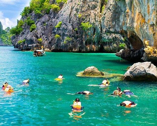 Bucear en las 4 islas de Trang en Koh Lanta