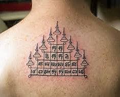 Tatuaje Sak Yant en Bangkok