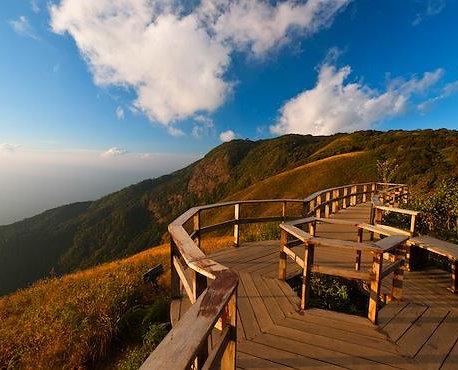 Parque nacional de Doi Inthanon en Chiang Mai