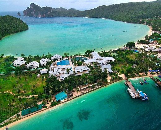 Las islas phi phi de Tailandia