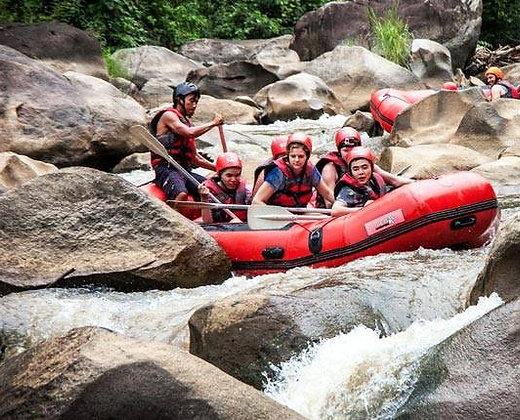 Rafting en Chiang Mai, deportes de aventura