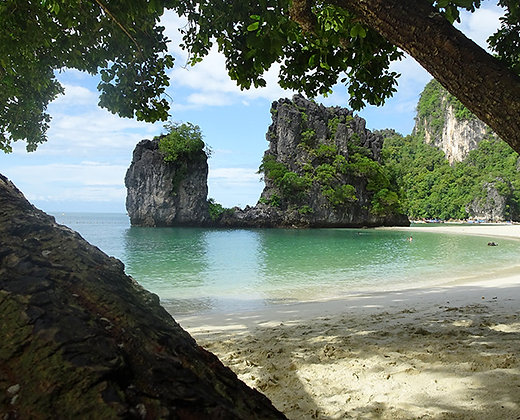 Las islas hong son el paraíso natural de Phang Nga