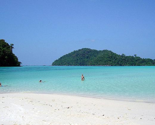 Un paraiso en Tailandia con las islas surin