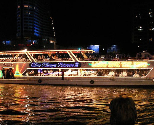 Crucero romántico por el río chao phraya