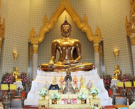 El Budha en el Wat Traimitr