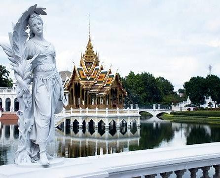 Crucero por el río Chao Phraya viniendo de Ayutthaya