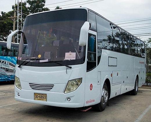 El autobús para ir a Ayutthaya