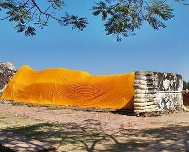 Budha Reclinado en Ayutthaya
