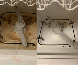 Before & After Dishwasher