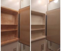 Before & After Medicine Cabinet