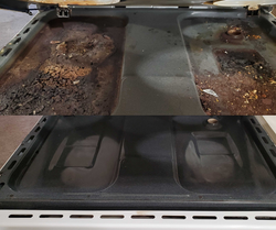 Before & After Under Stovetop
