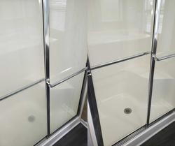 Before & After Shower Door