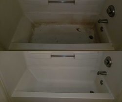 Before & After Tub