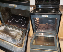 Before & After Oven
