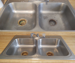 Before & After Sink