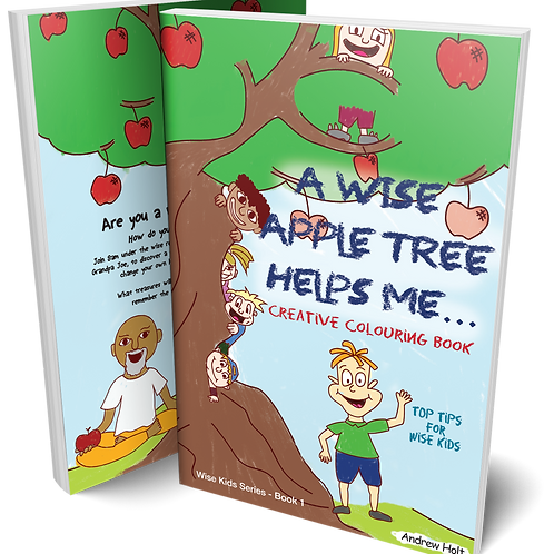 A Wise Apple Tree Helps Me (COLOURING JOURNAL)