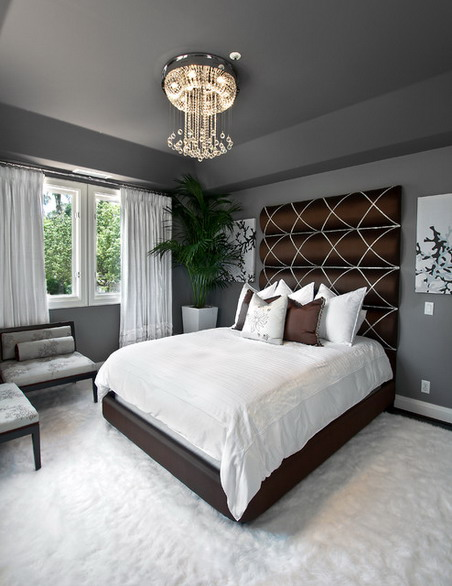 Bedroom Color Schemes Grey As Colours For