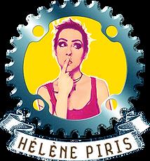 Hélène Piris en spectacle sur le Véloshow 2021