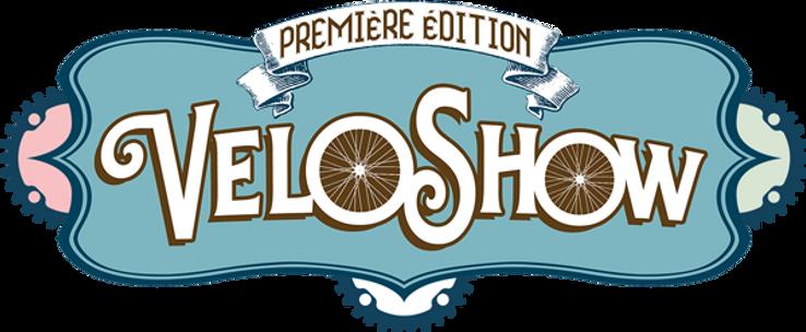 Logo Véloshow première édition 2019 Olivier Daumas